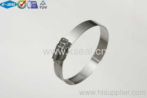 Stainless Steel American Type Worm Drive earth tape clamp KL96SS