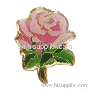 Photo Etched Soft Enamel laple pin