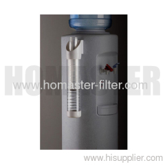 Water cup dispenser with spring
