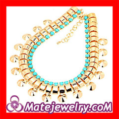 Gold Chunky Chain Choker Necklace