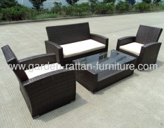 KD outdoor wicker patio garden furniture sofa classic design