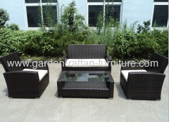 KnockDown outdoor wicker patio garden furniture sofa classic