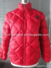 2013 NEW ELEGANT RED WINTER DOWN JACKET.