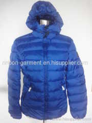 2013 NEW BLUE WINTER DOWN JACKET FOR WOMEN.
