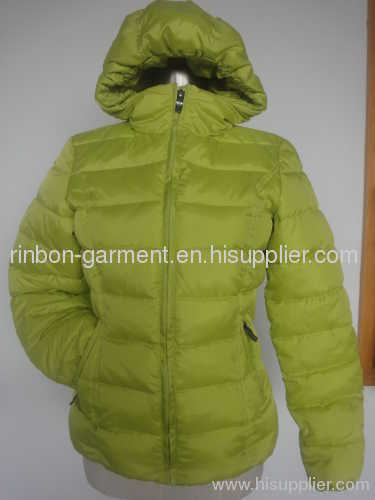 NEW GREEN WINTER FASHION DOWN JACKET.