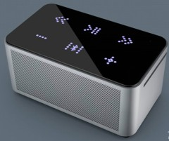 cool aluminum hi if portable bluetooth speaker | wireless bluetooth speaker with touch button design