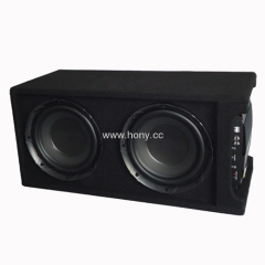 "Dual 10"" Active Car Subwoofer"