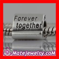 european Style Silver Message Bead