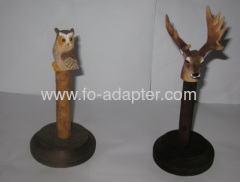 Detachable Animal Wooden Giant Spool