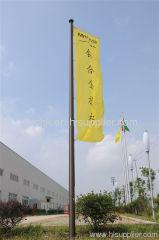 aluminum flagpole / stainless steel flagpole