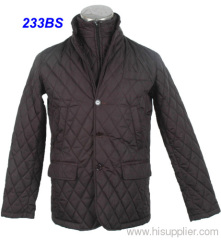 CHEAP AND FINE MEN'S BROWN WINTER JACKET.