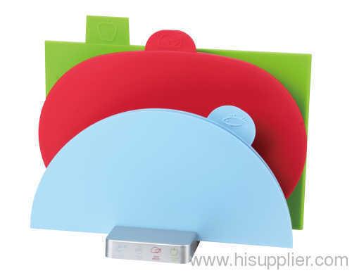folding plastic cutting board