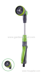 multi-purpose portable garden water spray wand