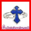 Fashion Jewelry Change Color Mood Unisex Sideways Cross Ring