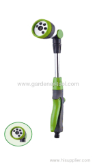 Mini garden water wand for water high site plant.