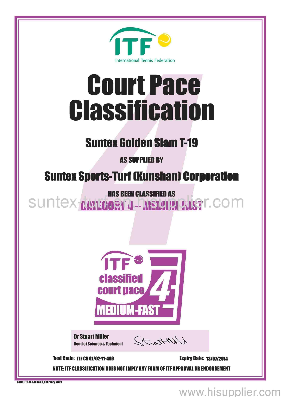ITF certificate