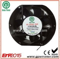 Energy saving EC Air Filters Axial Fan 115V EMC