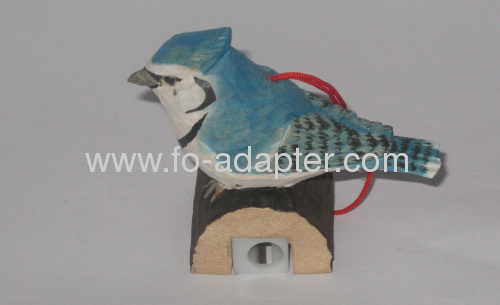 Decoration Design Bird Shape Wooden Pencil Sharpener
