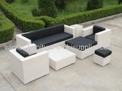 Outdoor And Indoor Furniture Hotel Wicker Sofa Sets