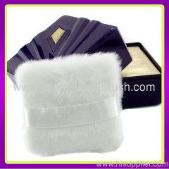 cosmetic plush powder puff