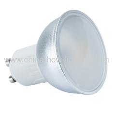 3W-4.5W Aluminium Body GU10 LED Bulbs with 2835SMD Epistar C