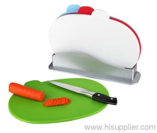 4pcs index chopping board cutting board