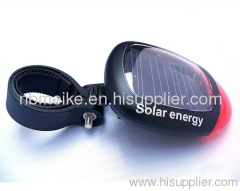 Solar Bicycle Light; Solar Bicycle Rear Light