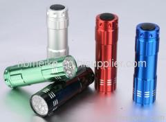 9 LED Aluminium Flashlight