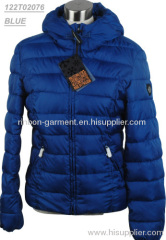 BRIGHT BLUE LADIES' WINTER JACKET.