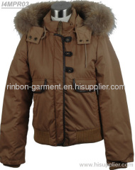 2013 NEW STYLE MEN'S POLULAR WINTER JACKET WITH BIG FOX COLLAR