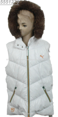 2013 NEWEST AND GOOD QUALITY WITHOUT SLEEVES JACKET FOR KIDS
