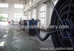 PE pipe extrusion machine manufacture