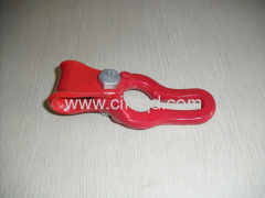 Chain lifting holder match with steel wire rope