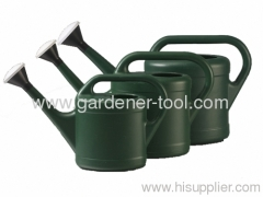 plastic lawn watering can with shower nozzle