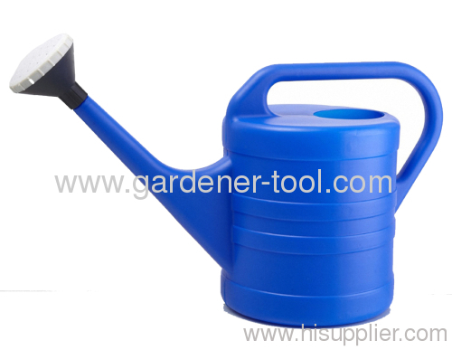 Plastic 8L watering tank for garden irrigation.