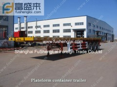 Chinese container trailer-semi trailer