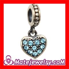 european Style Crystal Heart Pendant