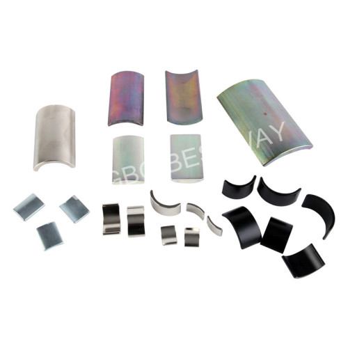 Different Coating Arc NdFeB Magnets