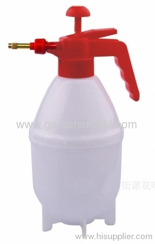 brass nozzle manual plastic water sprayer