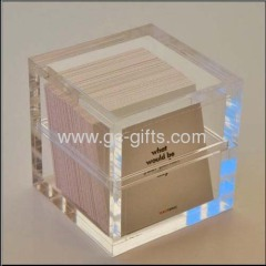 Plastic display cases for cards