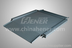 1.2*1.2M 3T Platform Scale Floor Scale (Extra Low Double Deck)