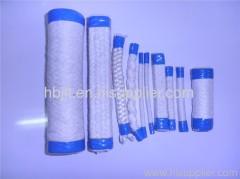 white ceramic fiber rope
