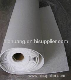 Ceramic fiber paper blanket