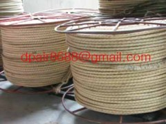 Core-coated rope& deenyma tow line