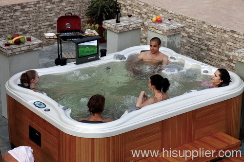 hot tub outdoor jacuzzi outdoor spa whirlpool spa massage bathtub from china manufacturer. Black Bedroom Furniture Sets. Home Design Ideas