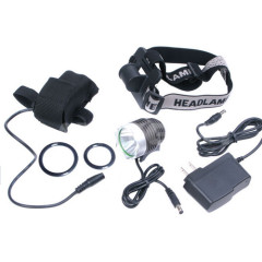 Rechargeable Cree XML T6 LED Bicycle Light and Head Lamp 2 in 1
