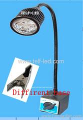 Flexible neck led work light with Plug