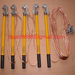 H.V. Earth rod&earthing sets