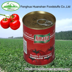 canned good quality tomate paste 18-20% from factory