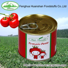 delicious 210g fresh canned tomato paste
